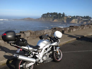 2003 SV1000S set up for Sport Touring
