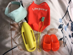 """Journey Girl 18"""" Doll lifeguard outfit"""
