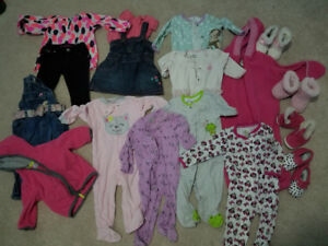 Baby girl clothes 6- 9 months