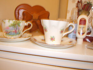 BONE CHINA TEA CUP/SAUCER    2 PATTERNS Kingston Kingston Area image 3