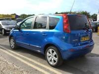 2008 NISSAN NOTE 1.6 Tekna 5dr Auto Mini MPV 5 Seats