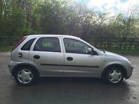 Vauxhall corsa 1.0 5dr 1year mot