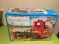 Playmobil flat bed truck