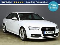 2013 AUDI A4 2.0 TDI 143 Black Edition 4dr