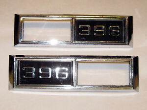 68 Chevelle 68 69 Nova Super Sport 396 side marker light bezels Edmonton Edmonton Area image 5