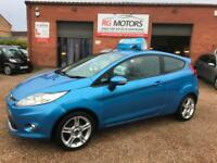 2009 Ford Fiesta Zetec S 1.6 TDCi Blue 3dr Hatch, **ANY PX WELCOME**