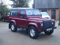 2000 Land Rover 90 Defender 2.5 Td5 County 6 Seater (Stunning)