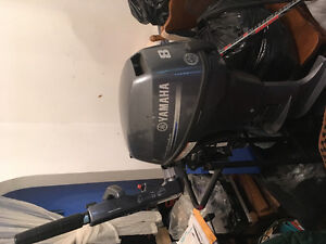 Yamaha outboard 8hp engine