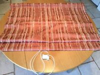 Folding Roman Blind for small window