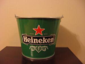 Awesome Heineken Beer Metal Ice Bucket!!!!