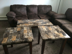 Couch and matching table set for $500