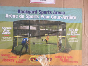 Backyard sports arena. Never used, still in the box.