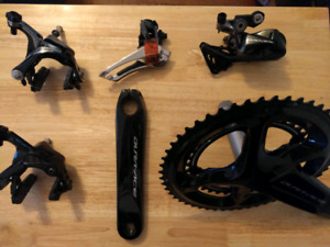 Shimano Dura Ace 9100 mech short group