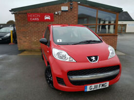 2011 Peugeot 107 1.0 12v PETROL Urban PX WELCOME PX WELCOME