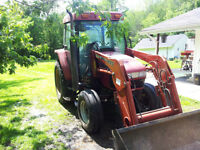 CASE CX60 LOADER WITH PTO