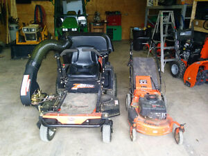 Ariens 40 inch zero turn with bagger Stratford Kitchener Area image 2