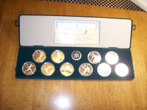 1988 Set  Of Olympic Coins