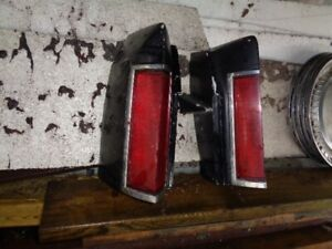 1980 Continental tail light housings