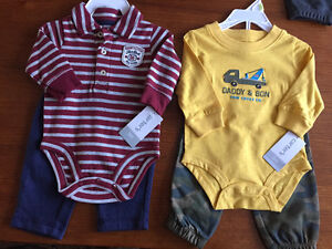 New! Carters 2 pc outfits. Size 3,6,9 mths Kitchener / Waterloo Kitchener Area image 3