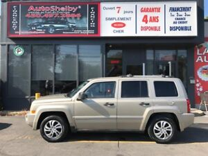 Jeep Patriot Limited 4WD-CUIR-NAVIGATION 2009