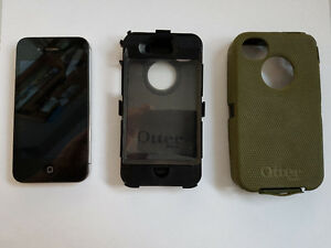 Iphone 4s with Otter box Defender series case.