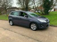 FORD GRAND C MAX ZETEC 7 SEATER 62000 MLS ONLY