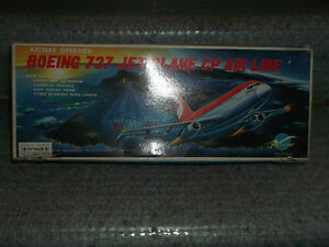 Airplane-Battery Operated-Vintage