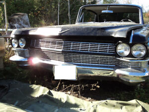 1964 Cadillac- COMPLETE front bumper assembly