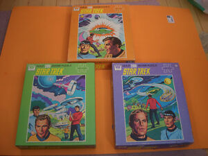 (3) STAR TREK GUILD PUZZLES (ALL COMPLETE) (ONE SEALED) London Ontario image 1