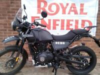 Royal Enfield Himalayan 411 all new demo in stock ready for latest 68 plate