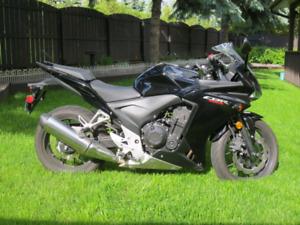 Honda cbr 500r with abs