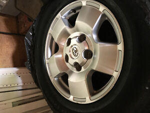 Tires and rim 255 70/R18