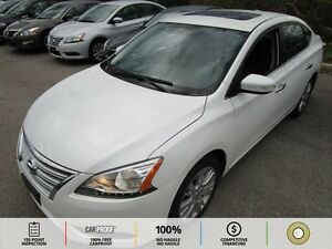 2013 Nissan Sentra SUNROOF! LEATHER! NAVI! PUSH TO START! BT!