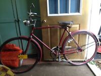 Antique Humphrey bike