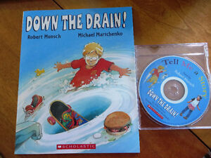 Robert Muncsh 'Down The Drain' book and CD
