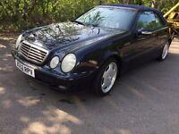 Mercedes CLK 230 kompressor (convertible)