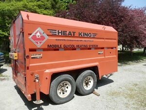 Crown Heat King 500 construction ground  thawing / heating