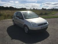 **FORD FIESTA 1.2**•44,000 MILES•1 LADY OWNER•FULL SERVICE HISTORY (11 stamps!)(Clio polo golf ka)
