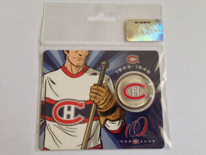 Montreal Canadiens NHL Hockey Collector Centennial 50 Cent Coin