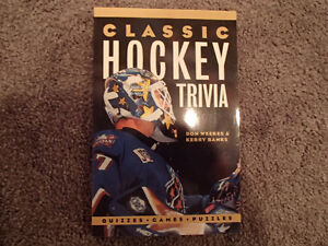 Classic Hockey Trivia by Don Weekes & Kerry Banks