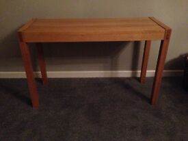 NEXT Solid oak Hall table excellent condition