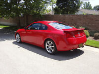 2004 Infiniti G35 Coupe - excellent condition, low mileage