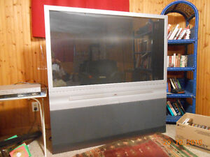 RCA projection screen HDTV.