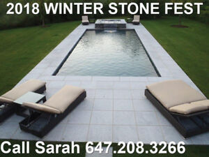 Gigantic Winter Sale on All Natural Stone Landscaping Products