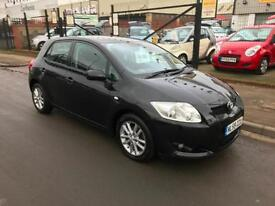 2009/59 Toyota Auris 1.6 V-Matic TR 5dr h/b 6 Speed 1 Owner Full Service History