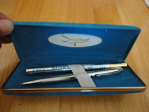 Vintage Simpsons ball point pen with refill and case London Ontario image 3