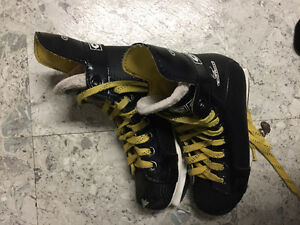 CCM boys hockey skates