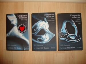 Trilogie Cinquante nuances de Grey de EL James $20.00