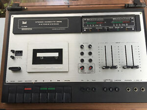 Dual Stereo Cassette Deck