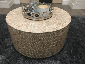 Round Glam coffee table